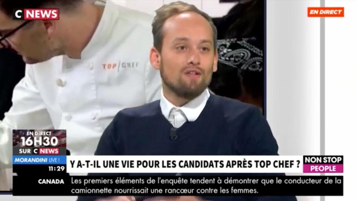 VIDEO Top Chef: un ancien candidat tacle le programme qu'il juge «racoleur»
