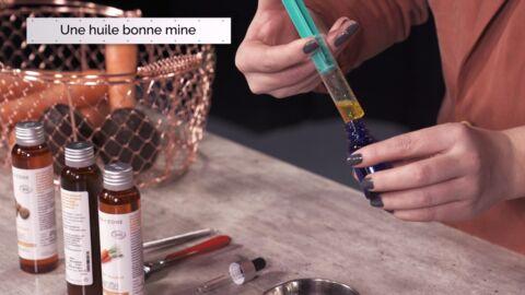 VIDEO LA MINUTE DIY: Comment fabriquer une huile bonne mine pour le visage