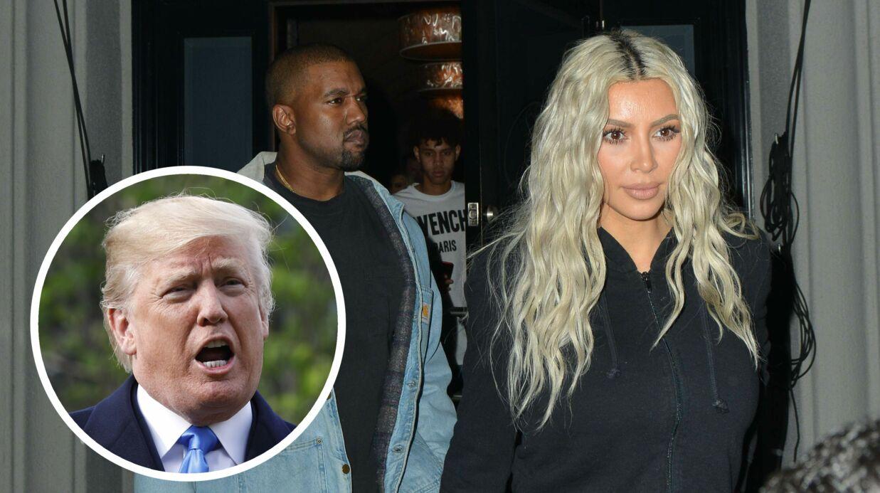 Kim Kardashian défend son mari Kanye West, soudainement pro Donald Trump