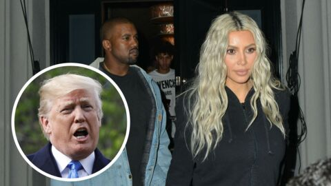 Kim Kardashian défend son mari Kanye West, soudainement pro Donald Trump