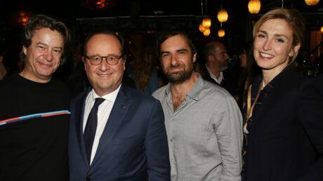 PHOTOS Chloé Jouannet et son boyfriend, François Hollande et Julie Gayet à la folle soirée de Dix pour cent au Montana