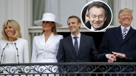 PHOTO Michel Denisot se moque des couples Macron/Trump… et c'est très drôle!