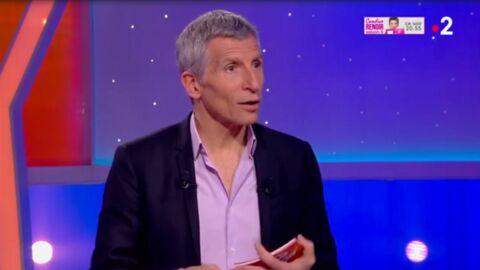 VIDEO Nagui perplexe après une vanne de Jean Dujardin à une fan