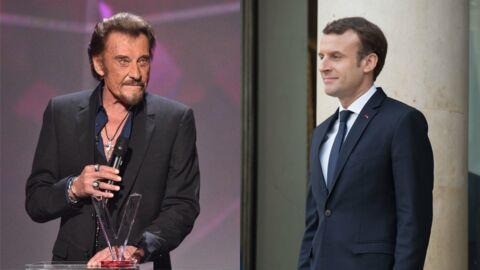 Johnny Hallyday: Emmanuel Macron a mis une nuit à écrire son hommage au chanteur