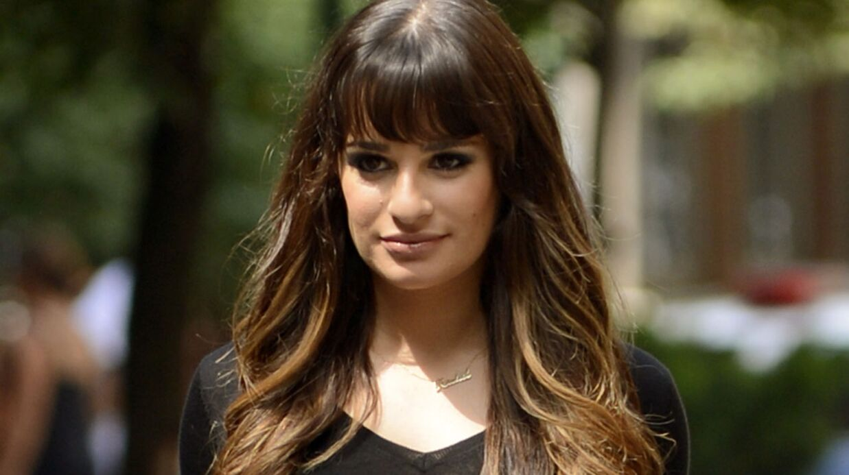 PHOTO Lea Michele fiancée: l'actrice dévoile son ÉNORME diamant