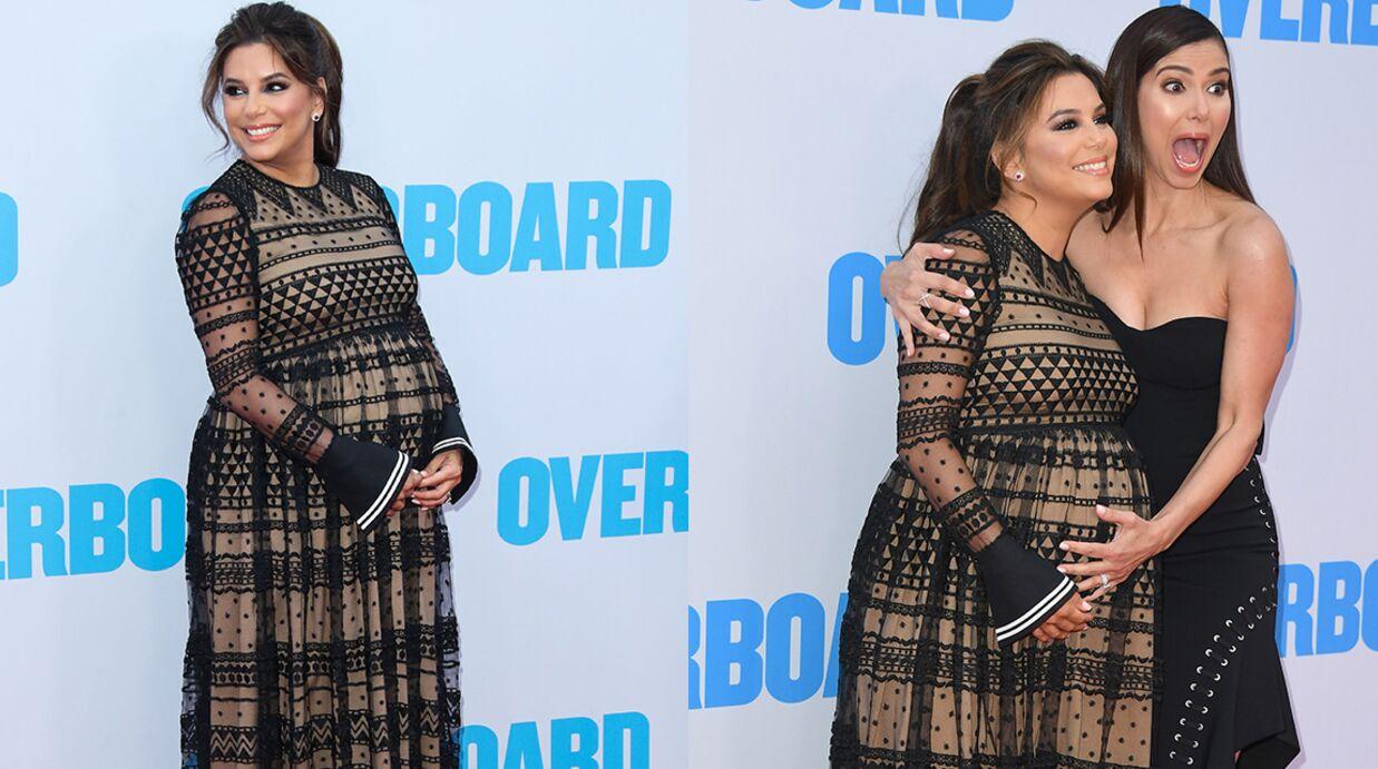 PHOTOS Eva Longoria affiche son ventre TRÈS arrondi à l'avant-première de son nouveau film
