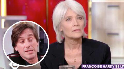 Découvrez le clip de Françoise Hardy qui fait honte à son fils Thomas Dutronc