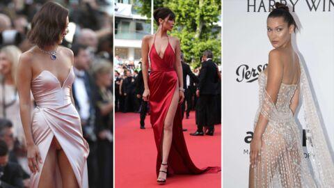PHOTOS Festival de Cannes 2018: les plus beaux looks de Bella Hadid sur la Croisette
