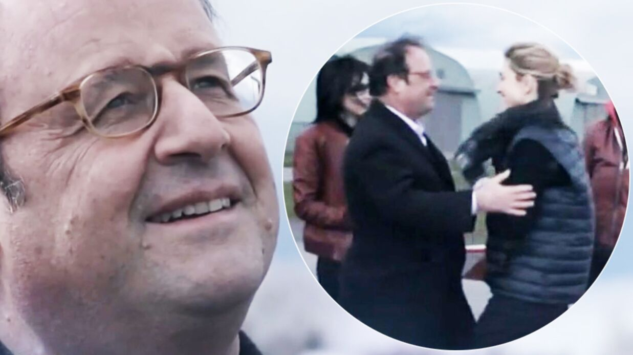 François Hollande et Julie Gayet surpris en plein câlin, la vidéo inédite dévoilée