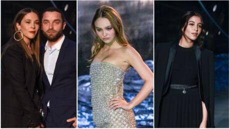 PHOTOS Lily-Rose Depp, Alysson Paradis, Leïla Bekhti: toutes les stars de l'incroyable défilé Chanel
