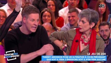 VIDEO Insultes entre Matthieu Delormeau et Isabelle Morini-Bosc: «Imbécile, trou du c*l!»
