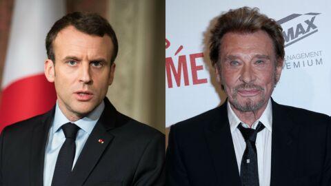 Johnny Hallyday: Emmanuel Macron tacle ceux qui ont critiqué son hommage au chanteur