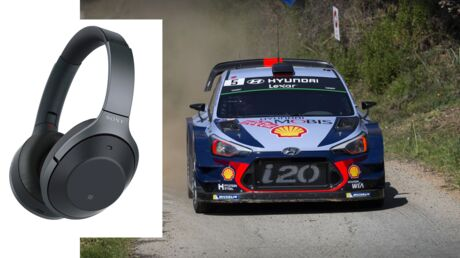 Les crash-tests de Voici: Ce casque à réduction de bruit est-il efficace?  Peut-on faire du rallye sans avoir peur?