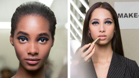 Tendance make-up: on veut le smoky bleu du défilé croisière de Chanel