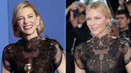 PHOTOS Festival de Cannes 2018: le geste fort de Cate Blanchett sur le tapis rouge