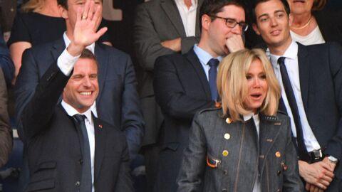 PHOTOS Emmanuel et Brigitte Macron au Stade de France: le président s'est fait siffler