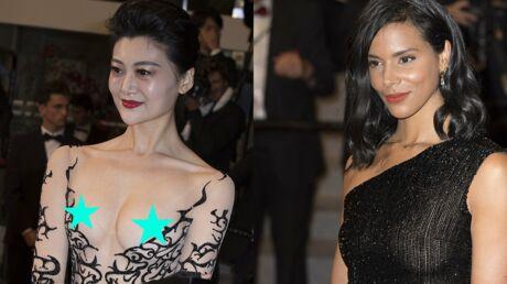 PHOTOS Festival de Cannes 2018: Shy'm sexy en top transparent, une invitée dévoile sa poitrine