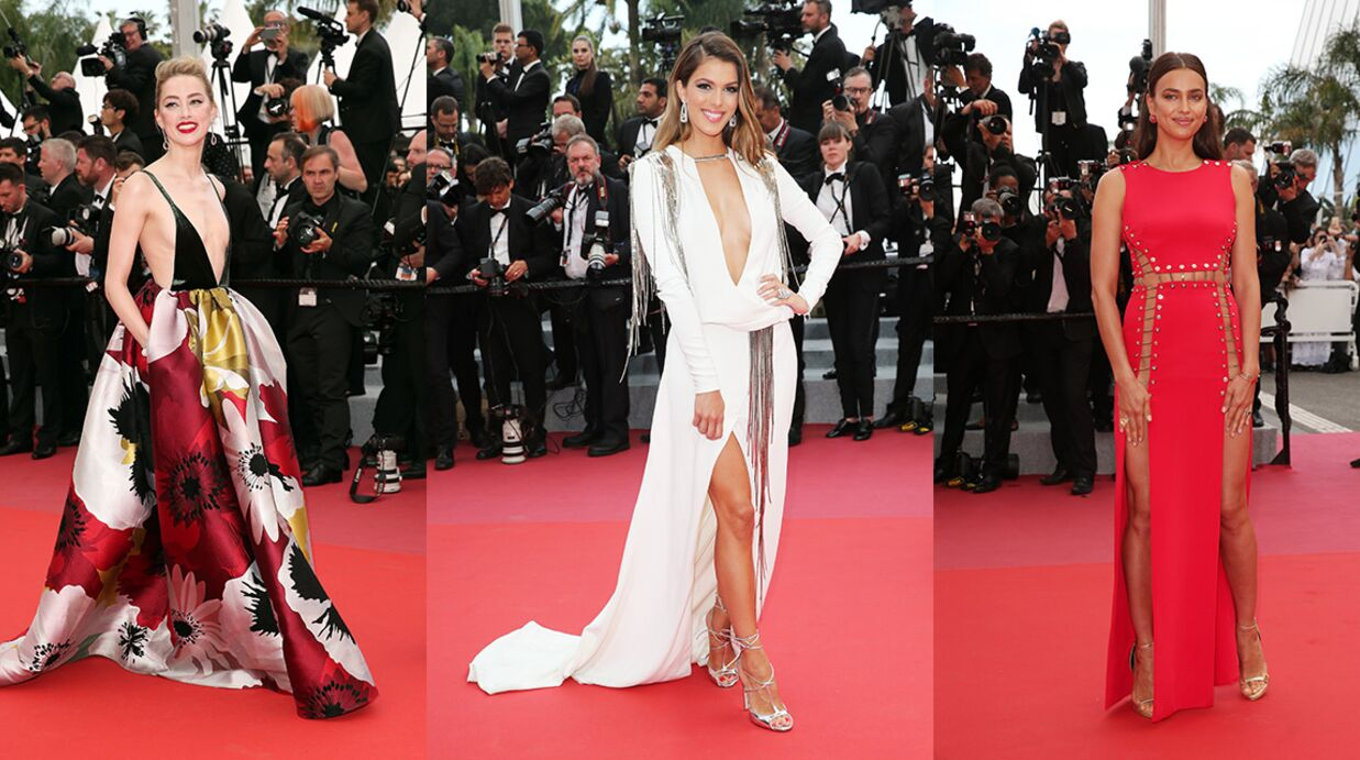 PHOTOS Festival de Cannes 2018: Iris Mittenaere et Amber Heard ultra décolletées, Irina Shayk sans culotte