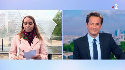VIDEO Une correspondante de France 2 fait un malaise en direct, elle se veut rassurante