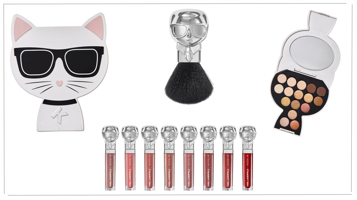 Karl Lagerfeld lance sa collection de maquillage avec la marque ModelCo