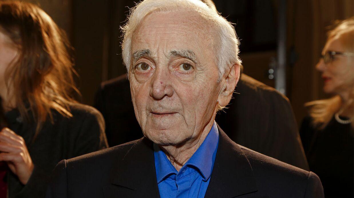 Charles Aznavour hospitalisé après une lourde chute à son domicile