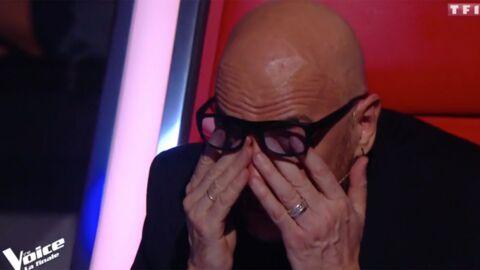 The Voice 7: Pascal Obispo fond en larmes pendant l'hommage à Maurane