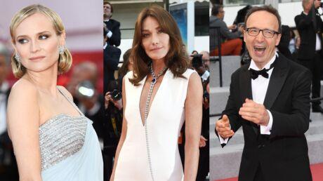 PHOTOS Festival de Cannes 2018: Diane Kruger magnifique, Carla Bruni lumineuse et Roberto Benigni fait le show