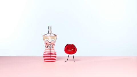 Nos beauty crushs: l'eau fraîche classique Jean-Paul Gaultier et le gloss Kiss My Lips Red Marionnaud