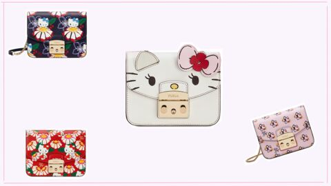 It-bag : Furla lance une collection à l'effigie d'Hello Kitty !