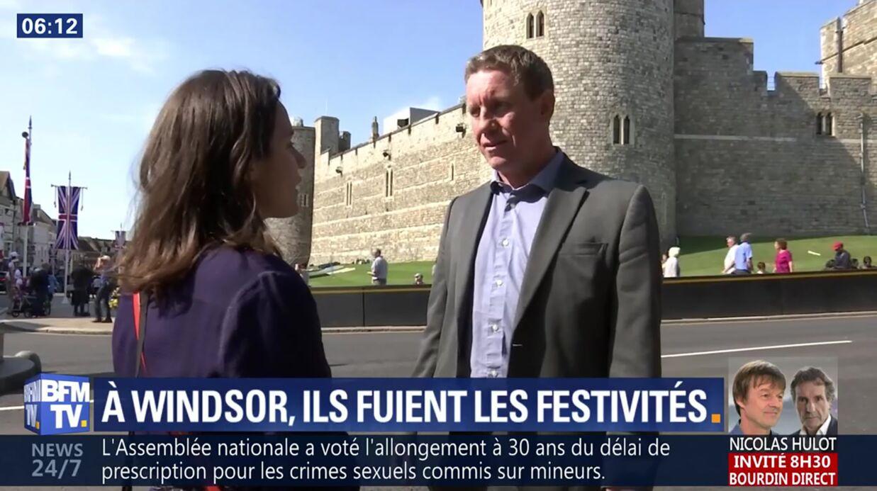 VIDEO Mariage du prince Harry et Meghan Markle: des habitants de Windsor prennent la fuite