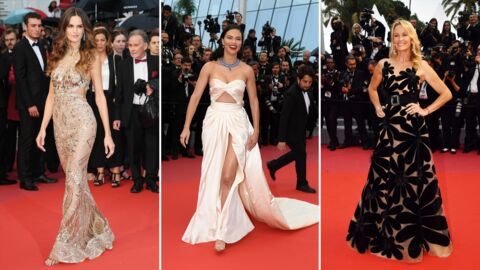 PHOTOS Festival de Cannes 2018: Estelle Lefébure audacieuse, c'est compliqué pour Adriana Lima