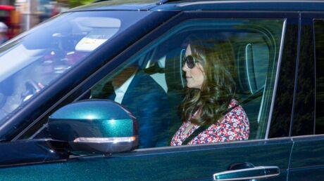 PHOTO Kate Middleton: première apparition depuis la naissance de Louis pour les répétitions du mariage d'Harry et Meghan
