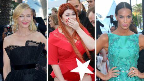 PHOTOS Festival de Cannes 2018: une inconnue en culotte sur le Red Carpet, Cate Blanchett en dentelles