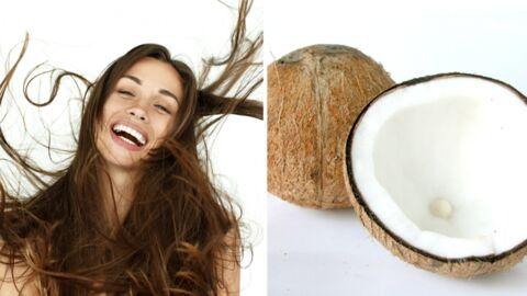 Les bienfaits de l'huile de coco pour les cheveux
