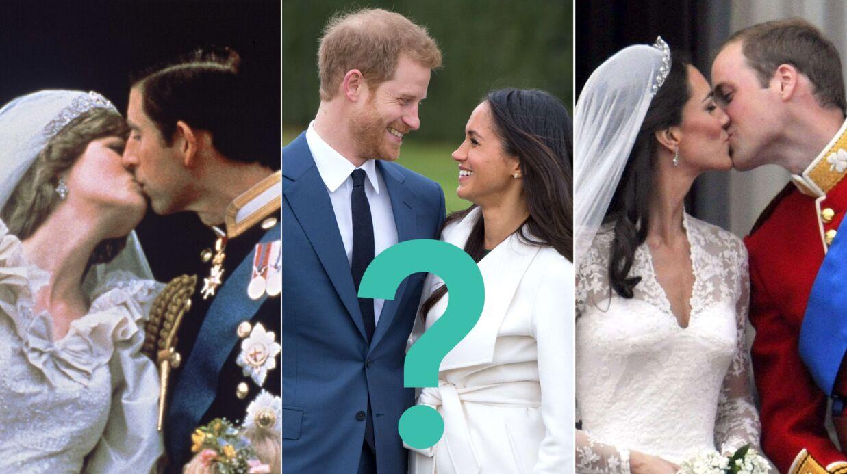 Mariage du prince Harry et Meghan Markle  où aura lieu le bisou puisqu\u0027il  n\u0027y a pas de balcon à Windsor ?