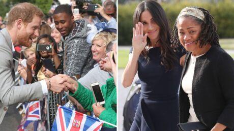 PHOTOS Mariage princier: à J-1, dernière apparition de célibataire pour le prince Harry et Meghan Markle