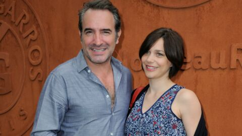 Photos jean dujardin et nathalie p chalat se sont mari s for Dujardin saint cloud
