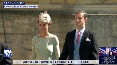 VIDEO Mariage de Meghan et Harry: enceinte, Pippa Middleton est arrivée avec ses parents!