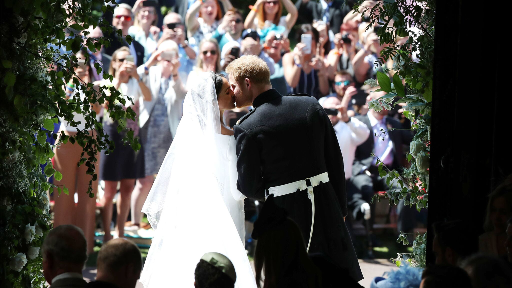 PHOTOS Mariage du Prince Harry et Meghan Markle  les plus beaux moments du  royal wedding , Voici