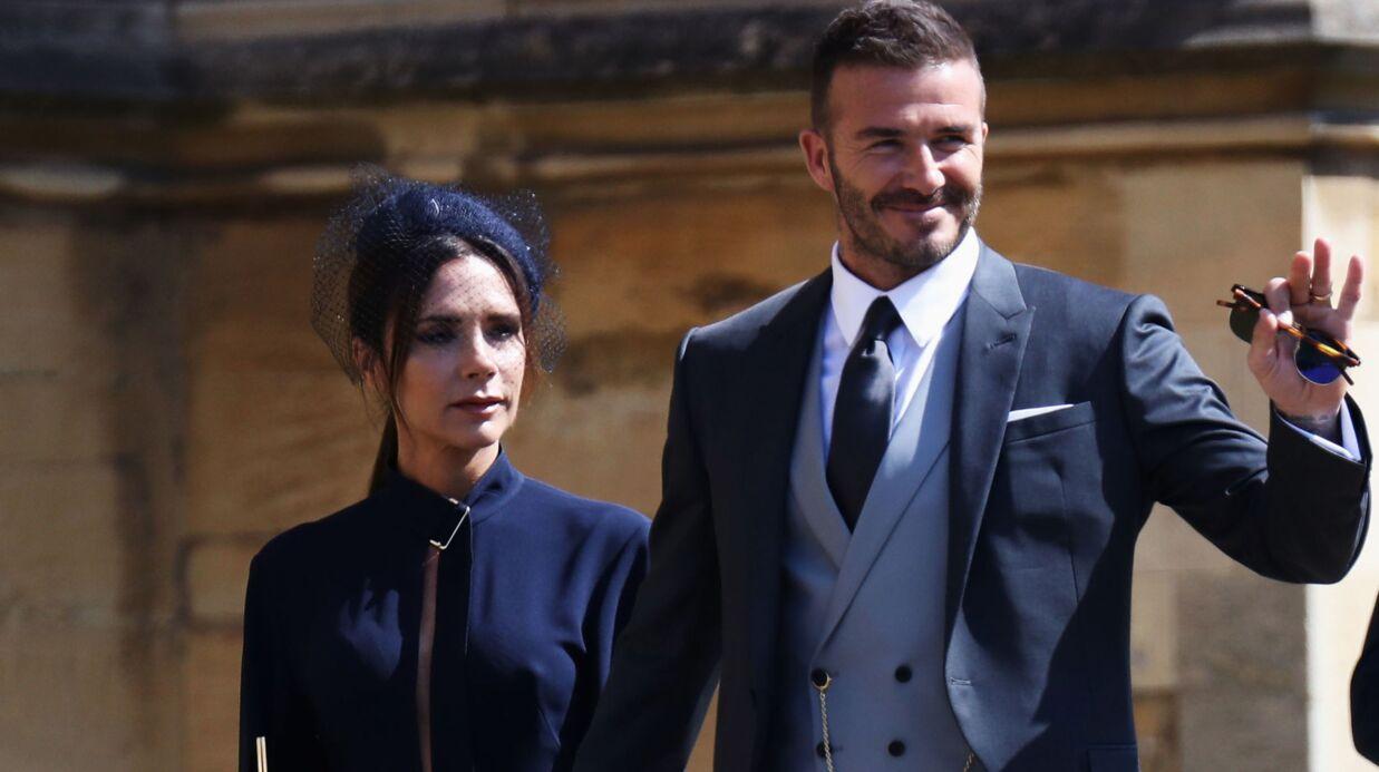 Pourquoi la tenue de Victoria Beckham fait scandale au mariage du prince  Harry et Meghan Markle