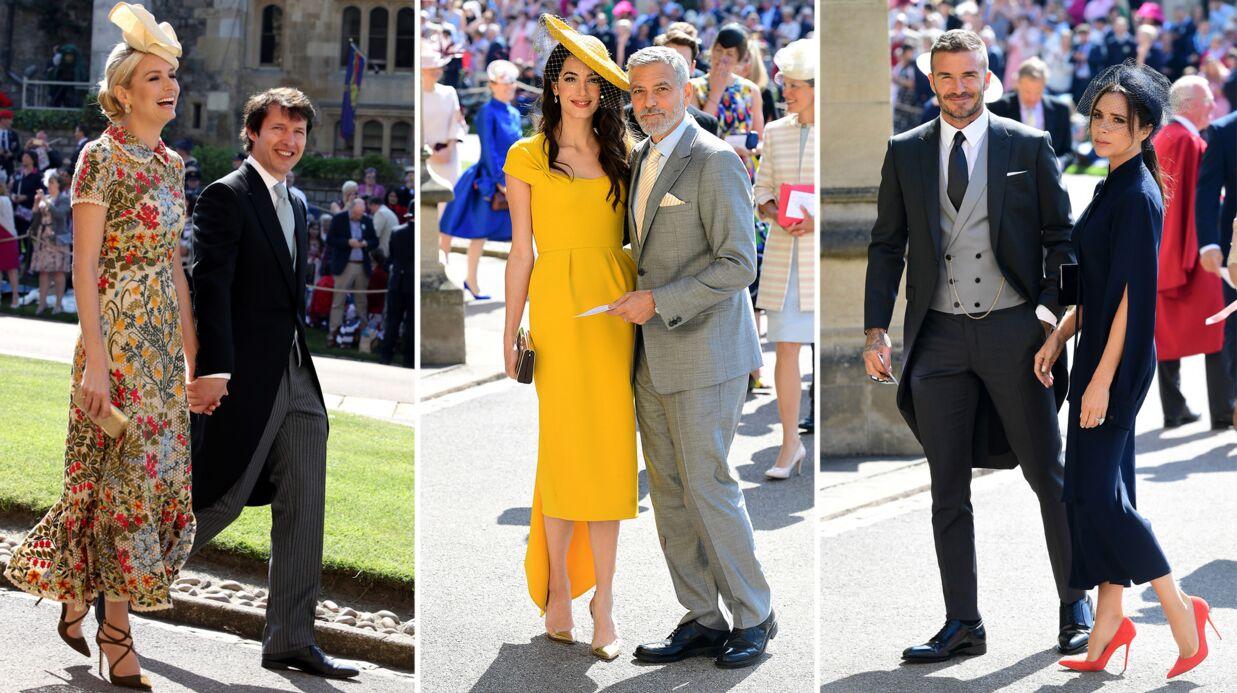 PHOTOS Mariage du prince Harry et Meghan Markle  l\u0027arrivée des stars à la  cérémonie
