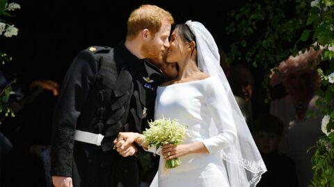 VIDEO Mariage du prince Harry et Meghan Markle: découvrez le premier bisou officiel des mariés