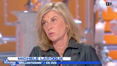 VIDEO Michèle Laroque agacée que Thierry Ardisson parle de son couple avec François Baroin