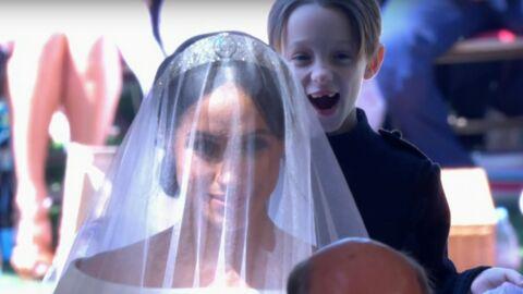 Mariage du prince Harry: qui est ce petit garçon qui a volé la vedette à Meghan Markle?