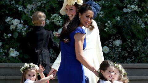 VIDEO Mariage du prince Harry: la robe moulante de la meilleure amie de Meghan Markle fait sensation