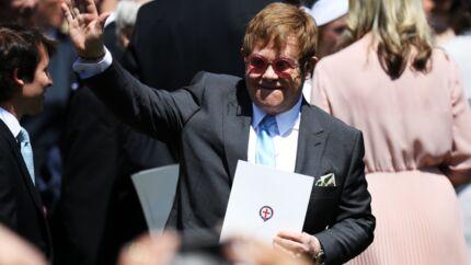 Elton John adresse un tendre message au Prince Harry et Meghan Markle