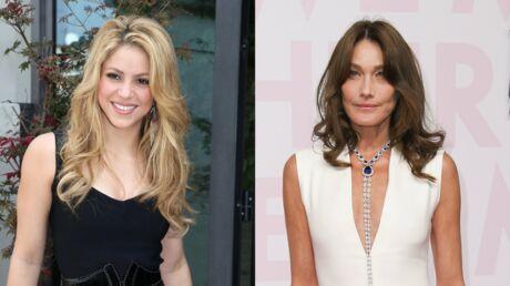 Shakira reprend Quelqu'un m'a dit, Carla Bruni est totalement fan