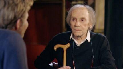 VIDEO Jean-Louis Trintignant: au bord des larmes, il évoque la mort de sa fille Marie