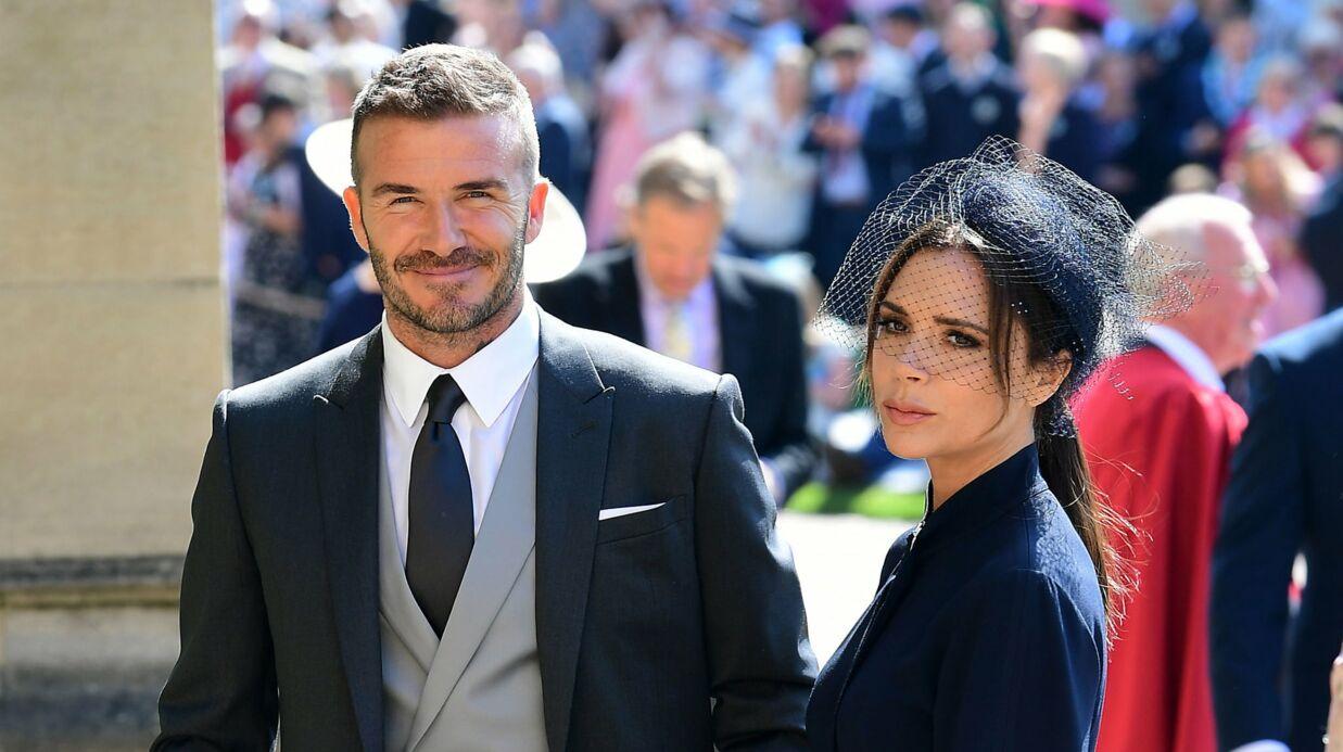 Mariage du prince Harry: une vilaine manie de David Beckham a énervé les Anglais