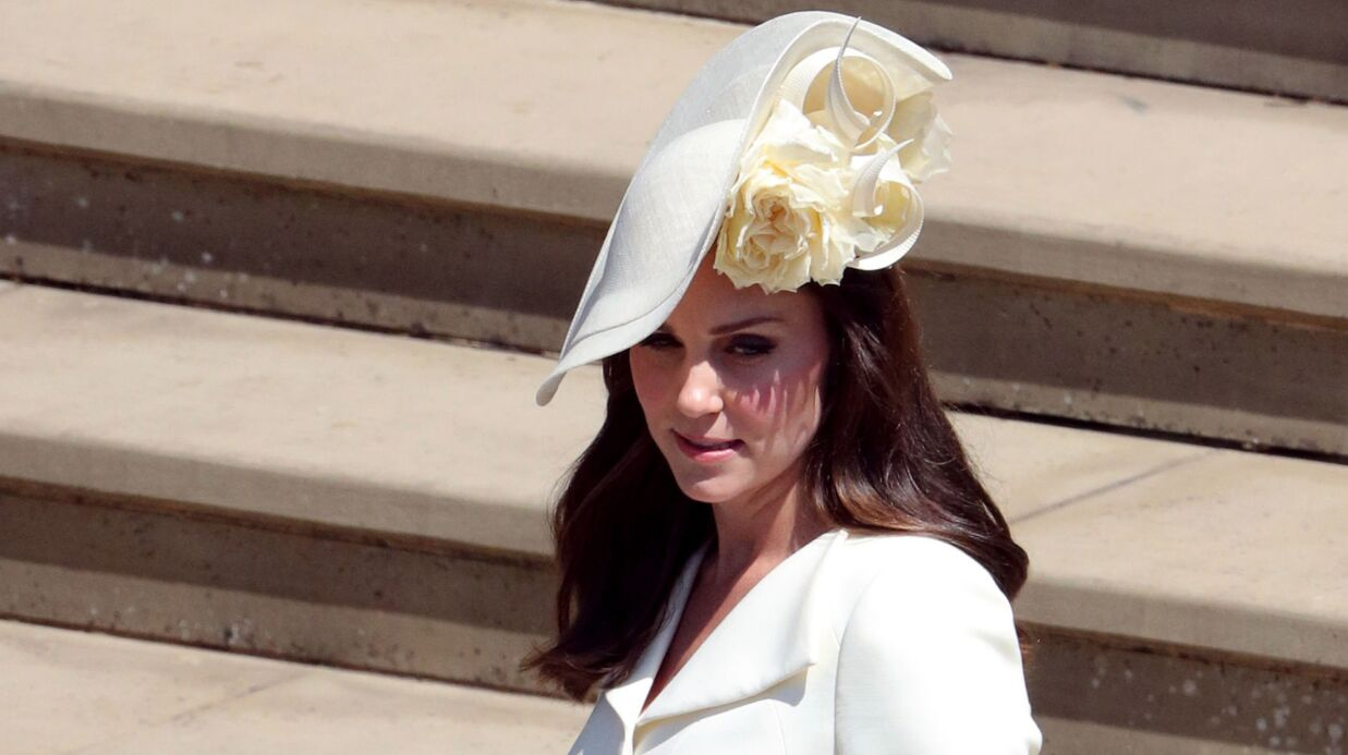 PHOTOS Kate Middleton : son bijou en hommage à son fils Louis au mariage du prince Harry et Meghan Markle